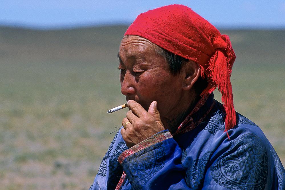 Människor I Mongoliet